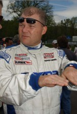 Jim Daniels offers race instruction